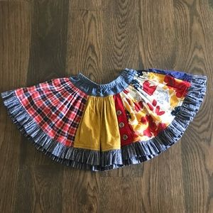 Girls Persnickety skirt, size 5
